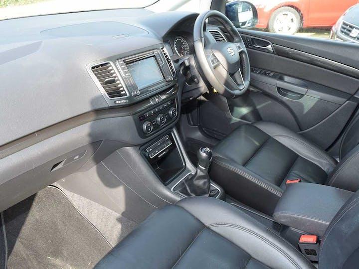 Blue SEAT Alhambra TDI Xcellence 2018