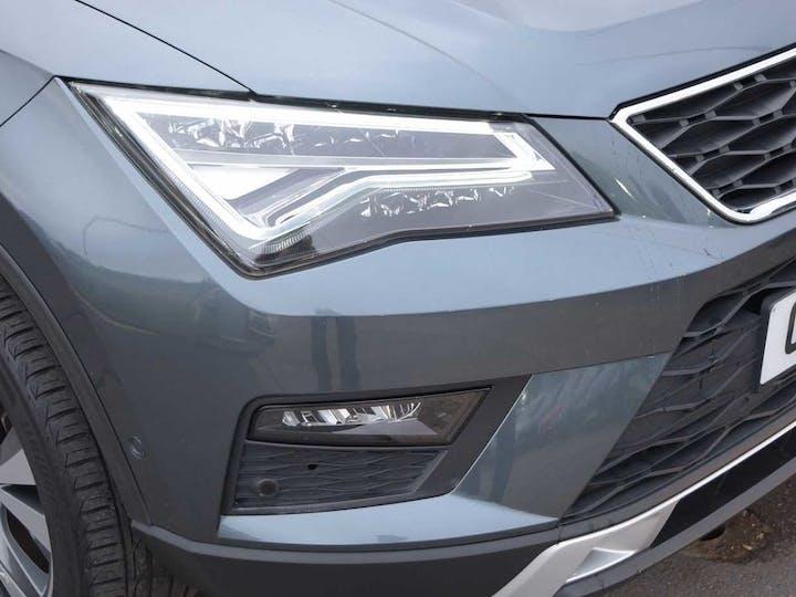 Grey SEAT Ateca TSI Evo SE Tech 2018