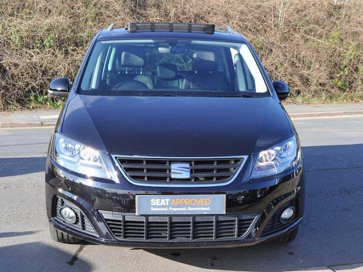 Black SEAT Alhambra TDI SE Lux 2016