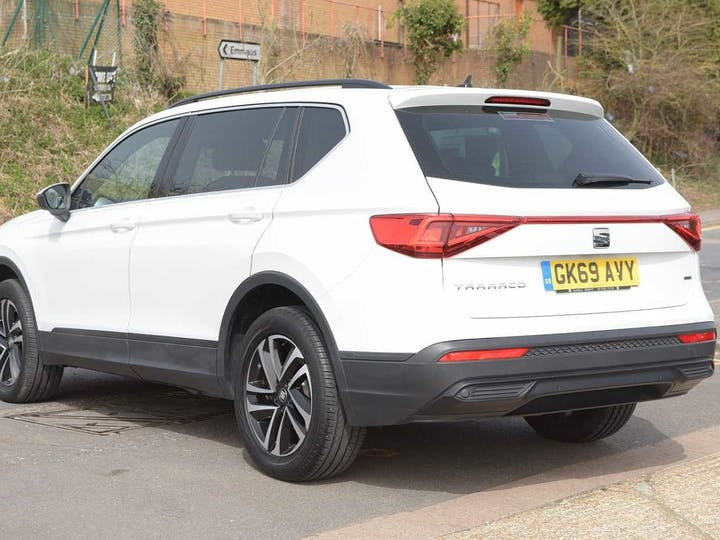 White SEAT Tarraco TDI 4drive SE Technology DSG 2019