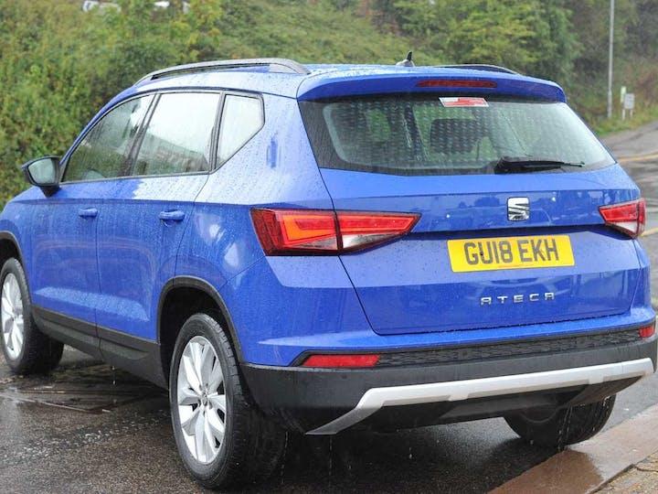 Blue SEAT Ateca TSI Ecomotive SE 2018