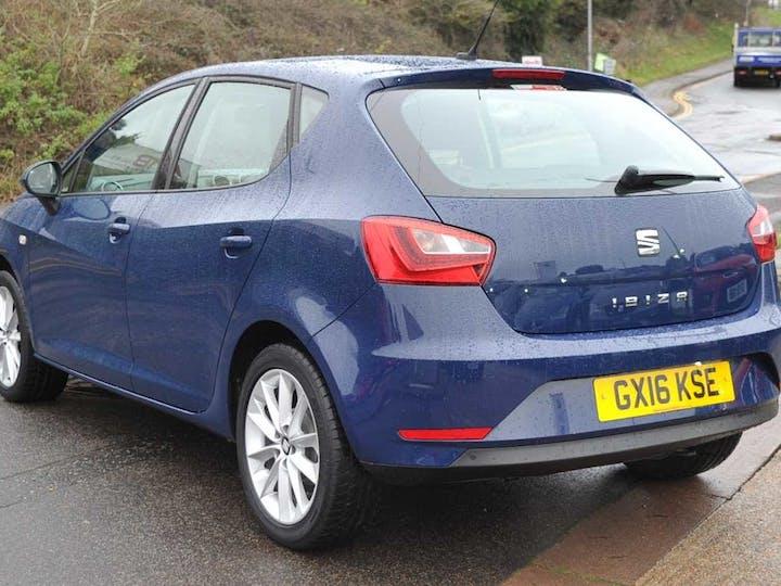 Blue SEAT Ibiza Vista 2016