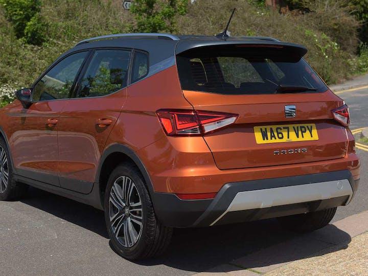 Orange SEAT Arona TSI Xcellence 2018
