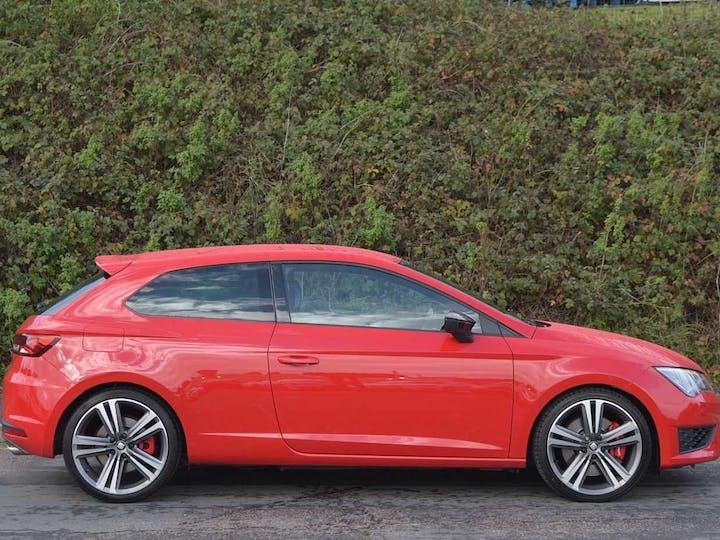 Red SEAT Leon 2.0 TSI Cupra 290 2016