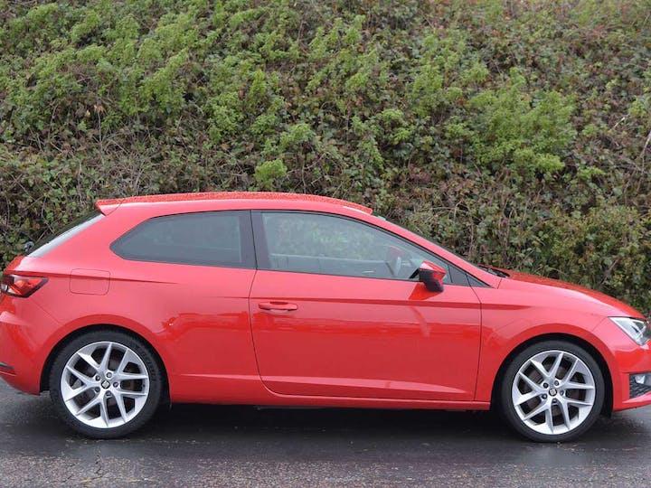 Red SEAT Leon TSI Fr Technology DSG 2015