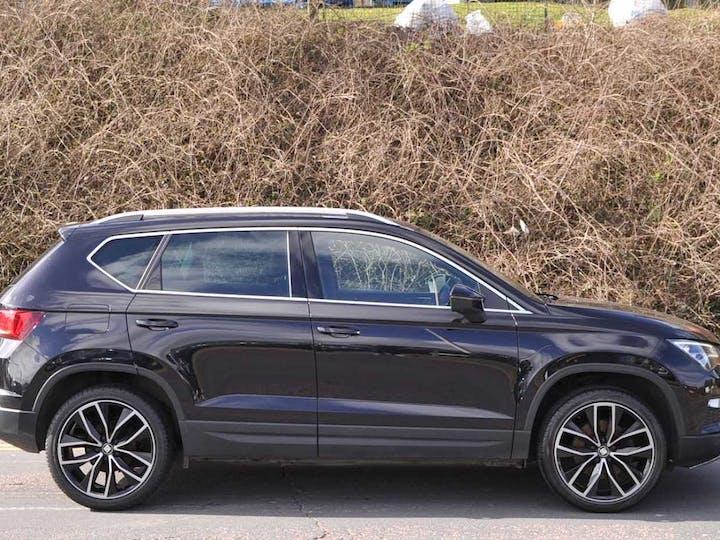 Black SEAT Ateca Ecotsi Xcellence 2017