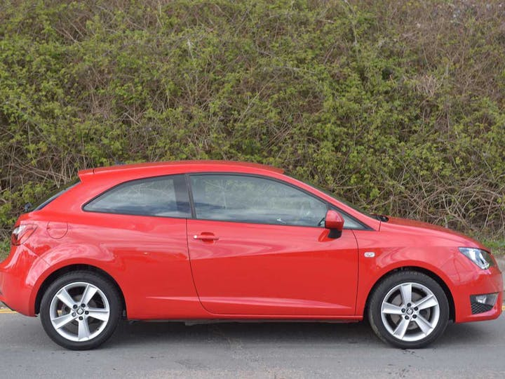 Red SEAT Ibiza TSI Fr Technology 2016