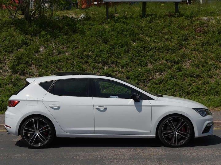 White SEAT Leon TSI Cupra DSG 2018