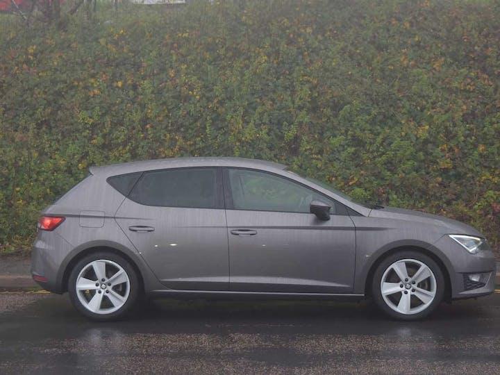 Grey SEAT Leon TDI Fr Technology 2015
