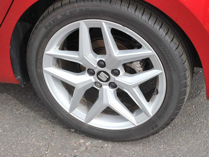 Red SEAT Ibiza TSI Evo Fr 2018