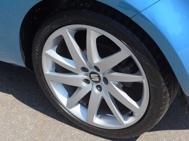 Blue SEAT Ibiza Ecotsi Fr Technology 2016
