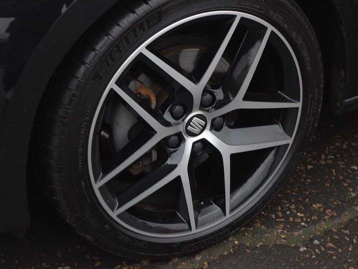 Black SEAT Leon TSI Fr Technology 2017