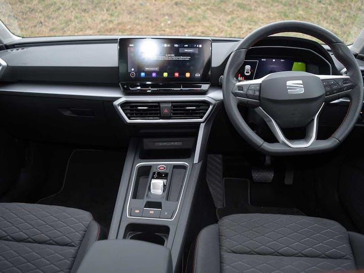 Black SEAT Leon Fr DSG 2020