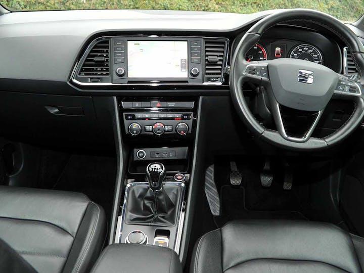 Silver SEAT Ateca Ecotsi Xcellence 2016