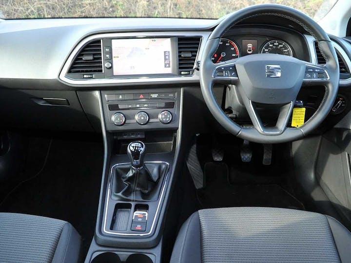 Black SEAT Leon SE Technology TSI Ecomotive 2017
