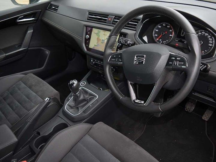 Black SEAT Ibiza TSI Xcellence 2018