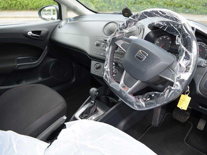 Grey SEAT Ibiza TSI Fr DSG 2015