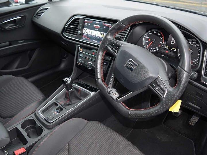 Grey SEAT Leon TSI Fr Technology 2018