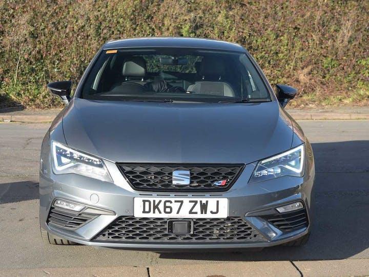 Grey SEAT Leon TSI Cupra 2017