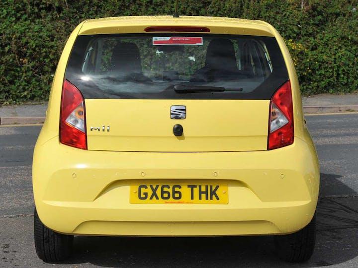 Yellow SEAT Mii SE Technology 2016