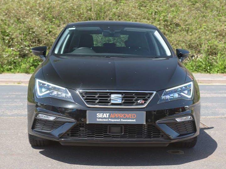Black SEAT Leon TSI Evo Fr Sport 2018