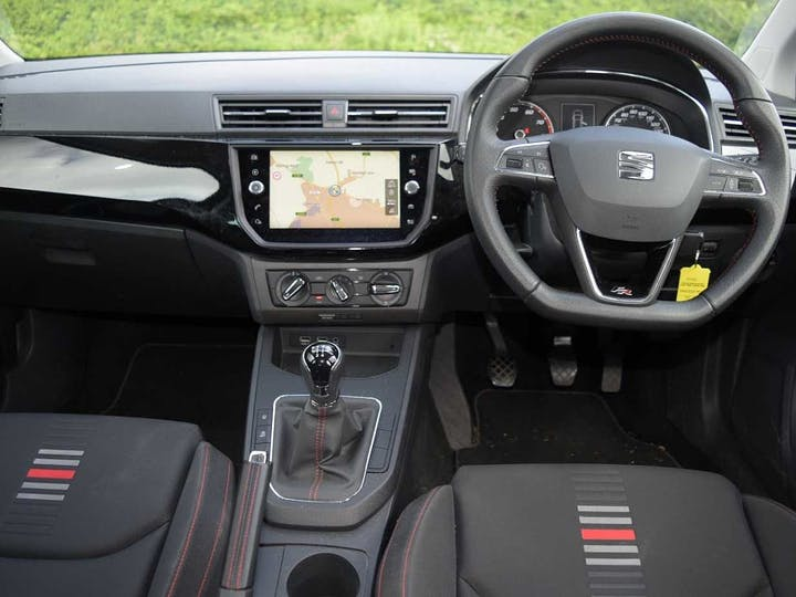Black SEAT Ibiza TSI Fr 2018
