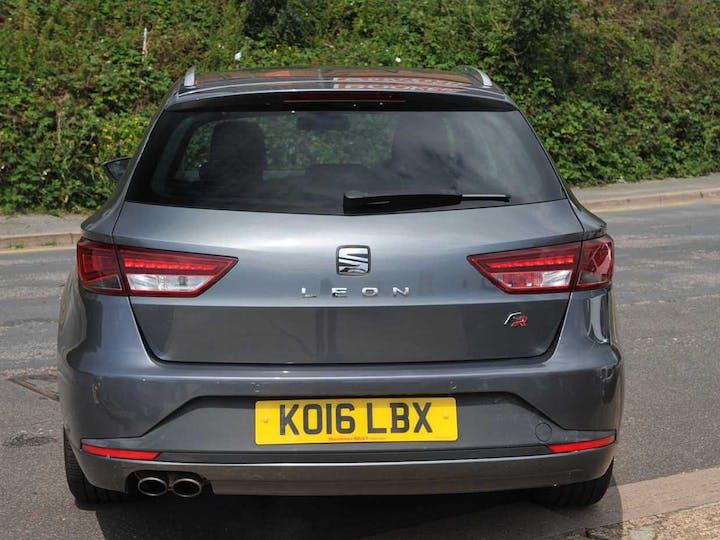 Grey SEAT Leon Ecotsi Fr Technology 2016