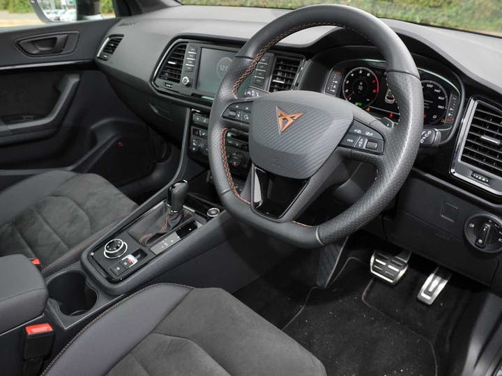 Grey SEAT Ateca TSI Cupra Comfort And Sound Plus Design 4drive DSG 2019