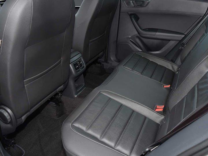 Silver SEAT Ateca TDI 4drive Xcellence 2016