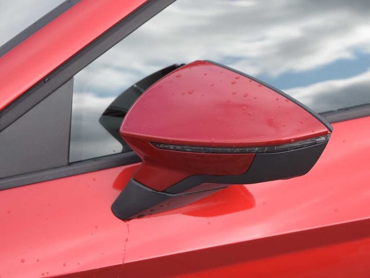 Red SEAT Leon TSI Fr Technology 2017
